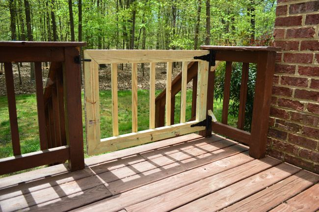 Deckgate Literally How To Make A Deck Gate Deck Gate Patio