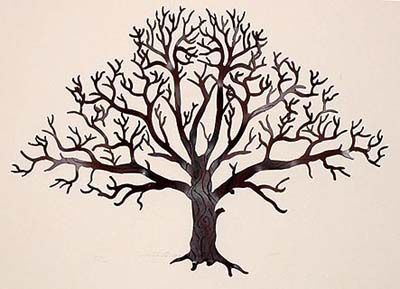 Tree Of Life Metal Wall Art | Wall Hangings Courtyard Art Trees, Oak Tree  Wall