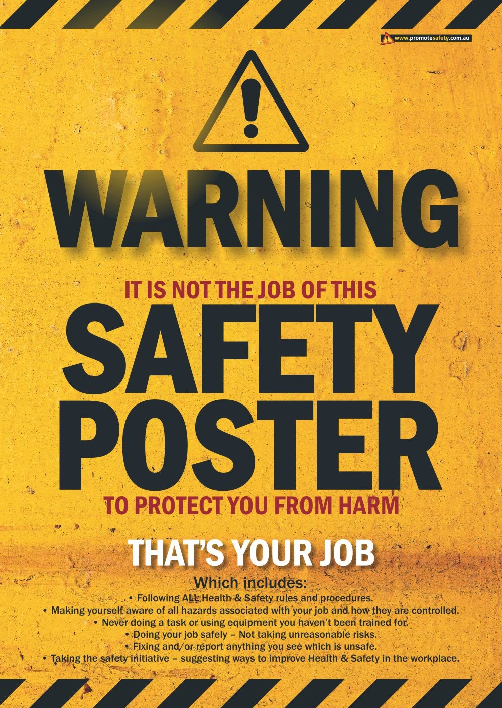 Poster Protection Safety Posters Thumbnail Safety