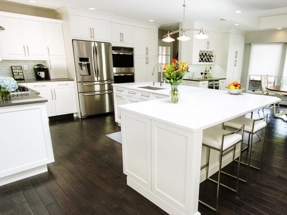 Before and after l shaped kitchen remodels kitchens L shaped kitchen designs with island
