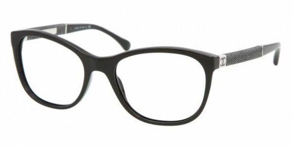 eacdd301b Chanel CH3199 C501 BLACK Chanel Frames | FREE Prescription Lenses |  Worldwide Delivery