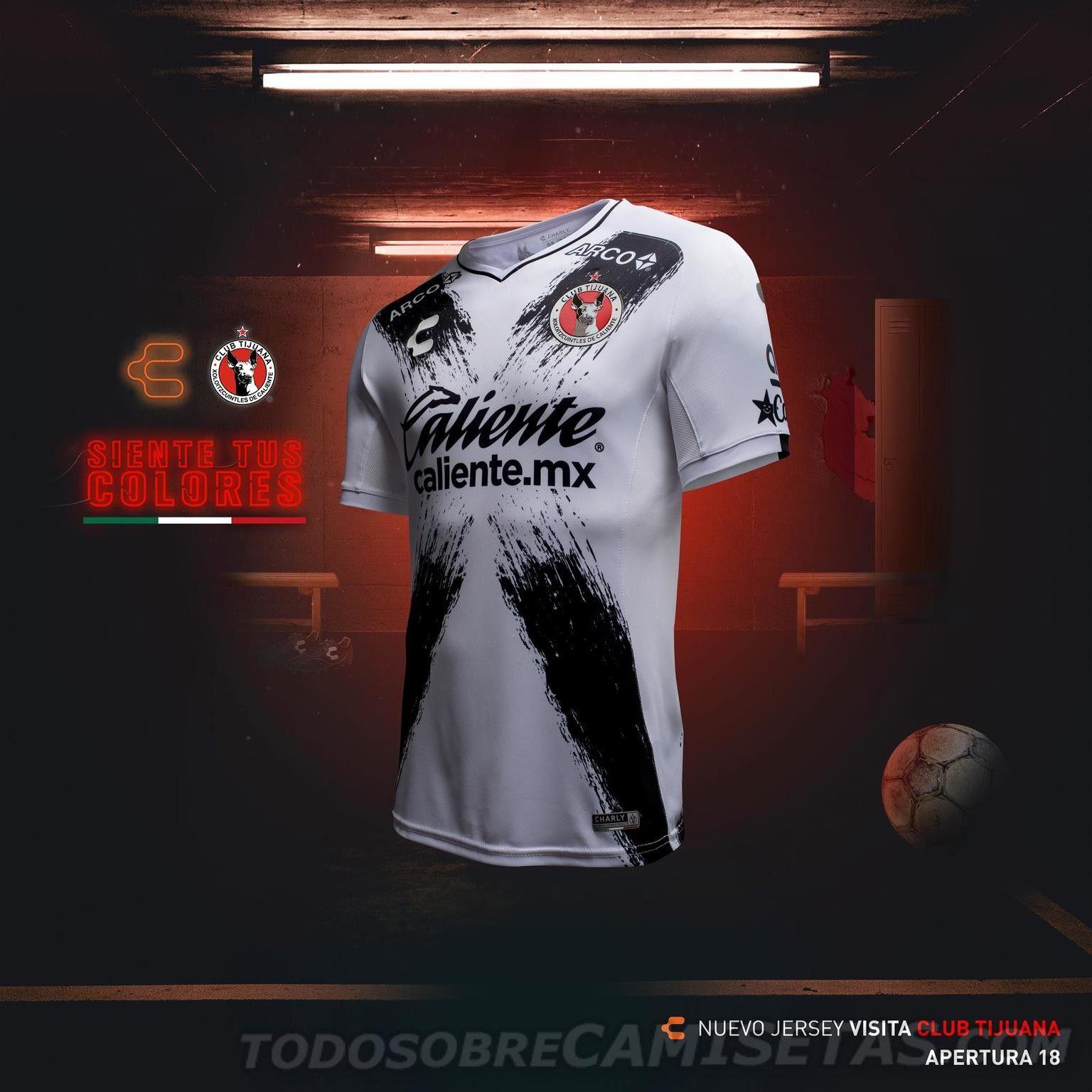 Jerseys Charly Futbol de Xolos de Tijuana 2018 19 | Soccer