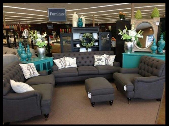 Gray And Teal Furniture For The Home Teal Living Rooms