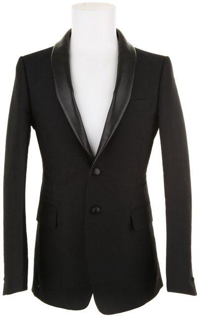 7d528041e17 Fancy - Yves Saint Laurent Jacket in Black Wool in Black for Men | Lyst