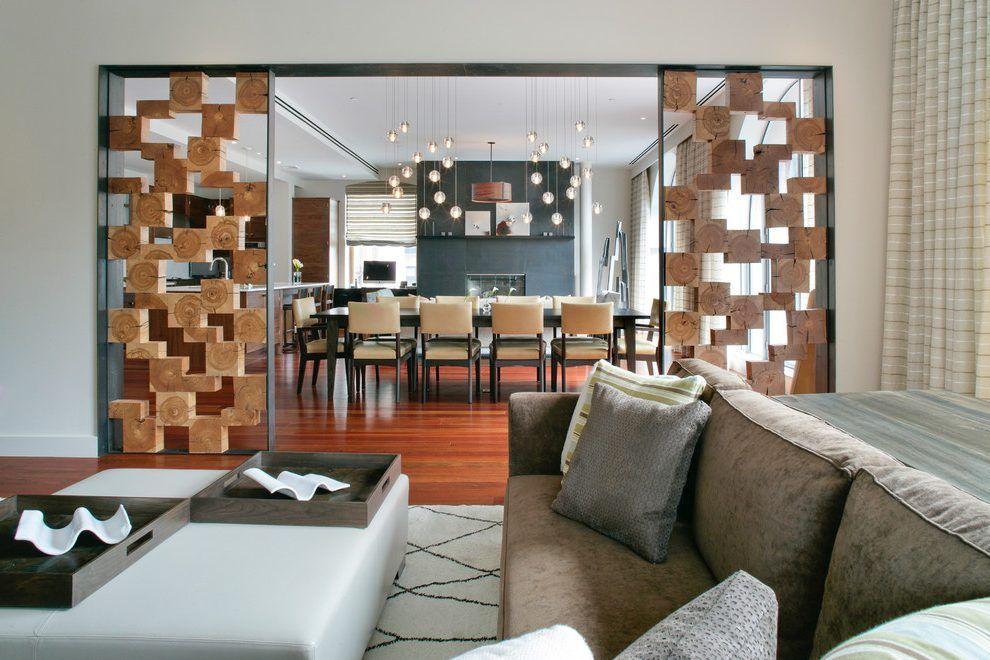 Room dividers nyc living room contemporary with white leather
