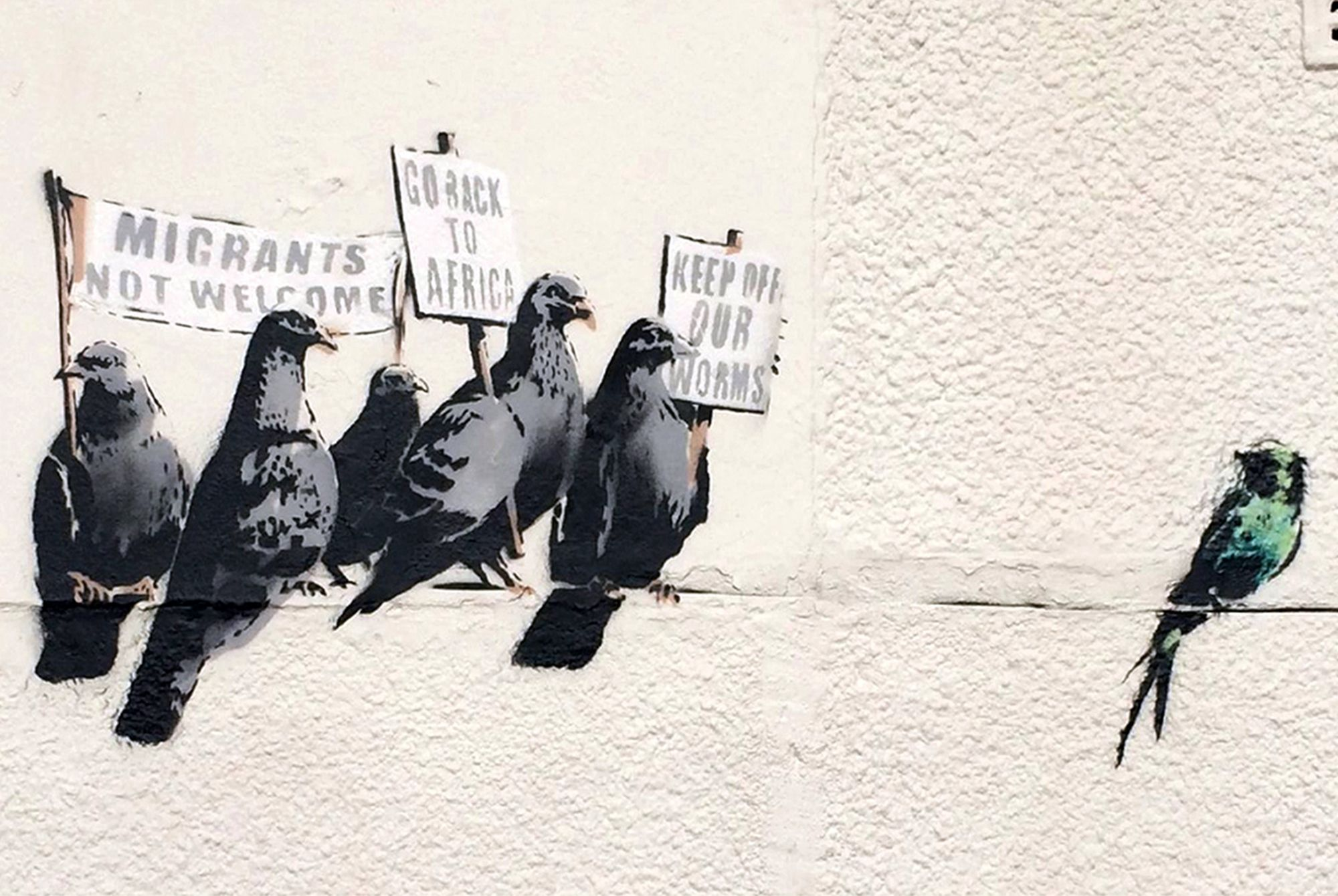 Museums won't even take Banksy's art for free | New York Post