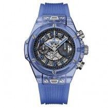 Hublot Big Bang Unico Zafiro Azul Zafiro Reloj 411.JL.4809.RT