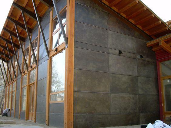 Metal Siding Panels Box Rib Pictures Google Search Metal Facade Metal Panels Facade Corrugated Metal Siding