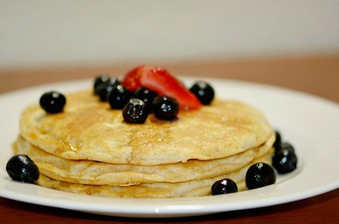 Fluffy Pancakes: Whole Wheat or Gluten Free