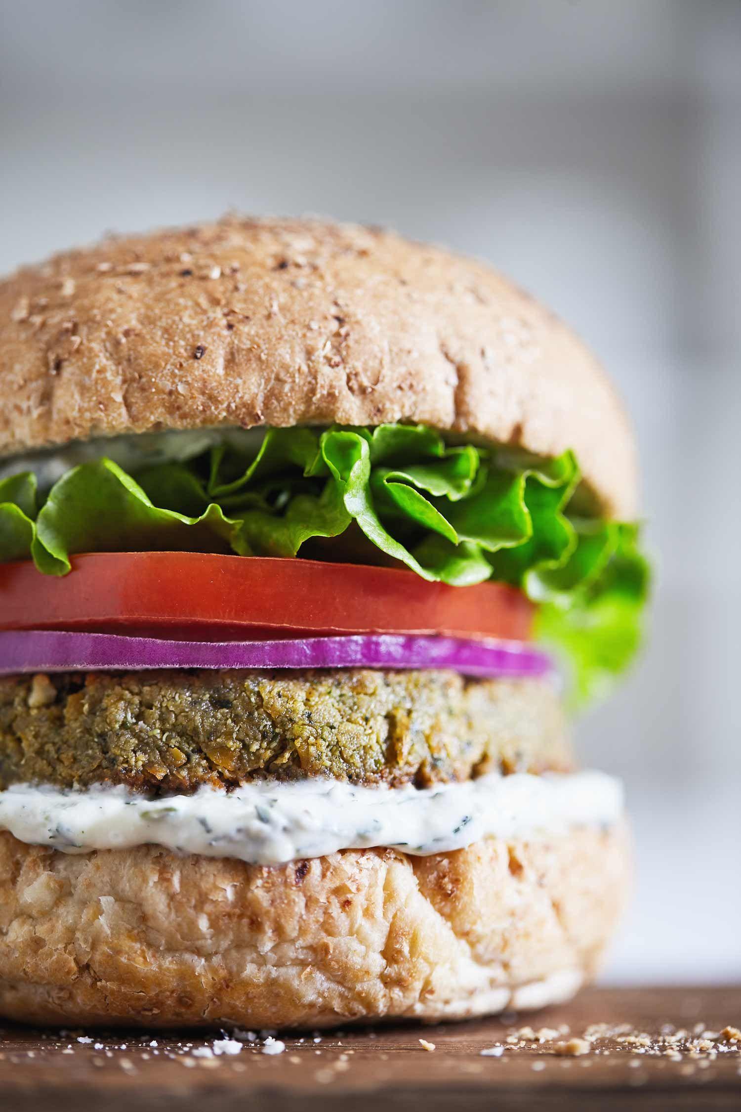 Because vegetarians deserve epic burgers too. (GF)