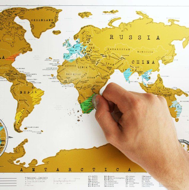 Fancy scratch map travel edition guides and maps pinterest fancy scratch map travel edition gumiabroncs Gallery