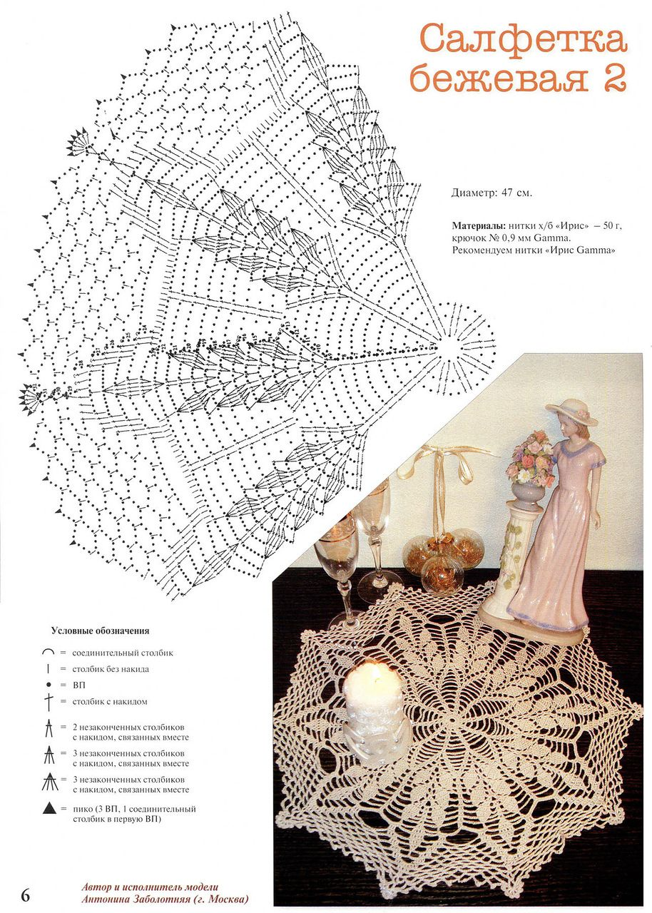 liubov-brajuk - «06.jpg» on Yandex | doily | Pinterest | Carpeta ...