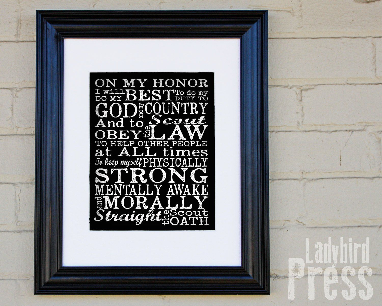Printable Scout Oath Court Of Honor Scout Oath Sign