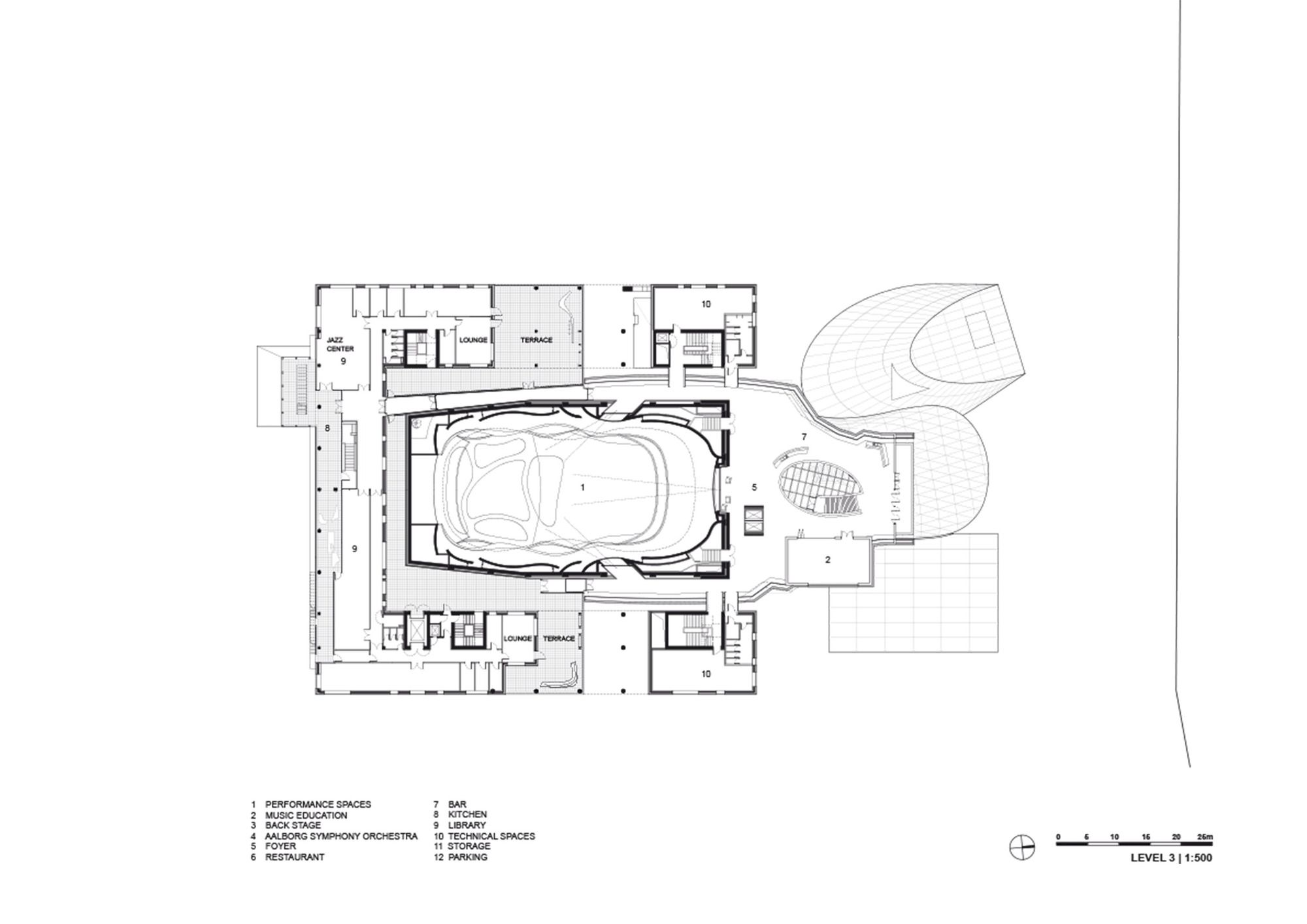Casa Da Musica Plan Casa da msica coop