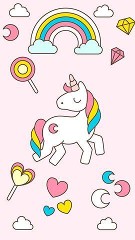 Cute Unicorn Android Phone Wallpapers Unicorn Cute Unicorn