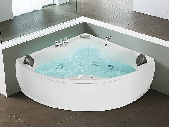 Whirlpool - bubbelbad - spa - hoekbad - SENADO | Droom huis ...