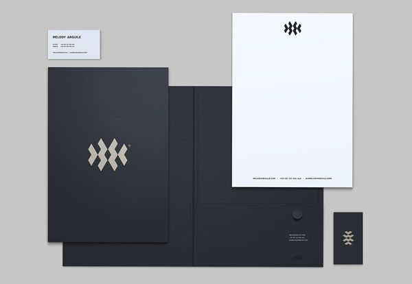40 Must See Stationery Designs for Print Inspiration | Stationery ...