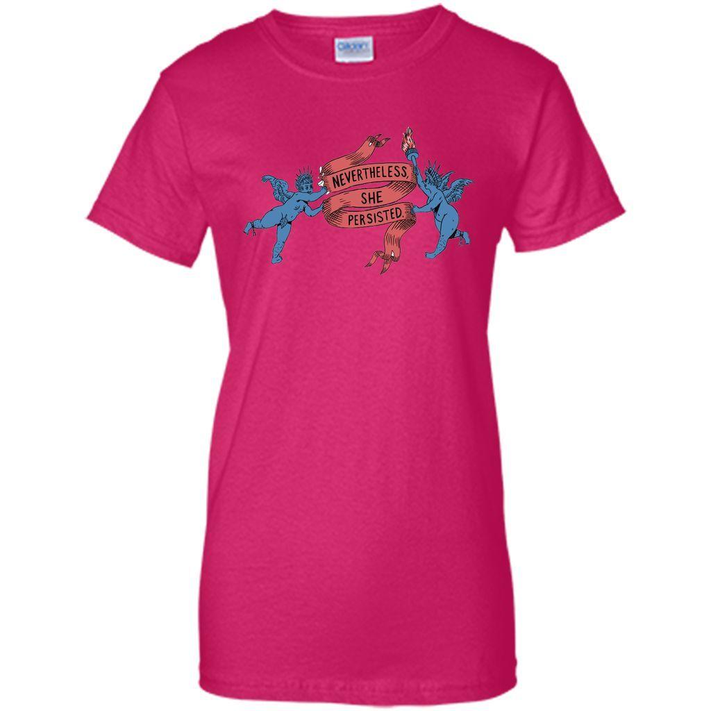 Nevertheless She Persisted Nevertheless Ribbon T-Shirt