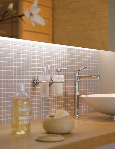 mosaikfliesen in der dusche | badezimmer & fliesen | pinterest
