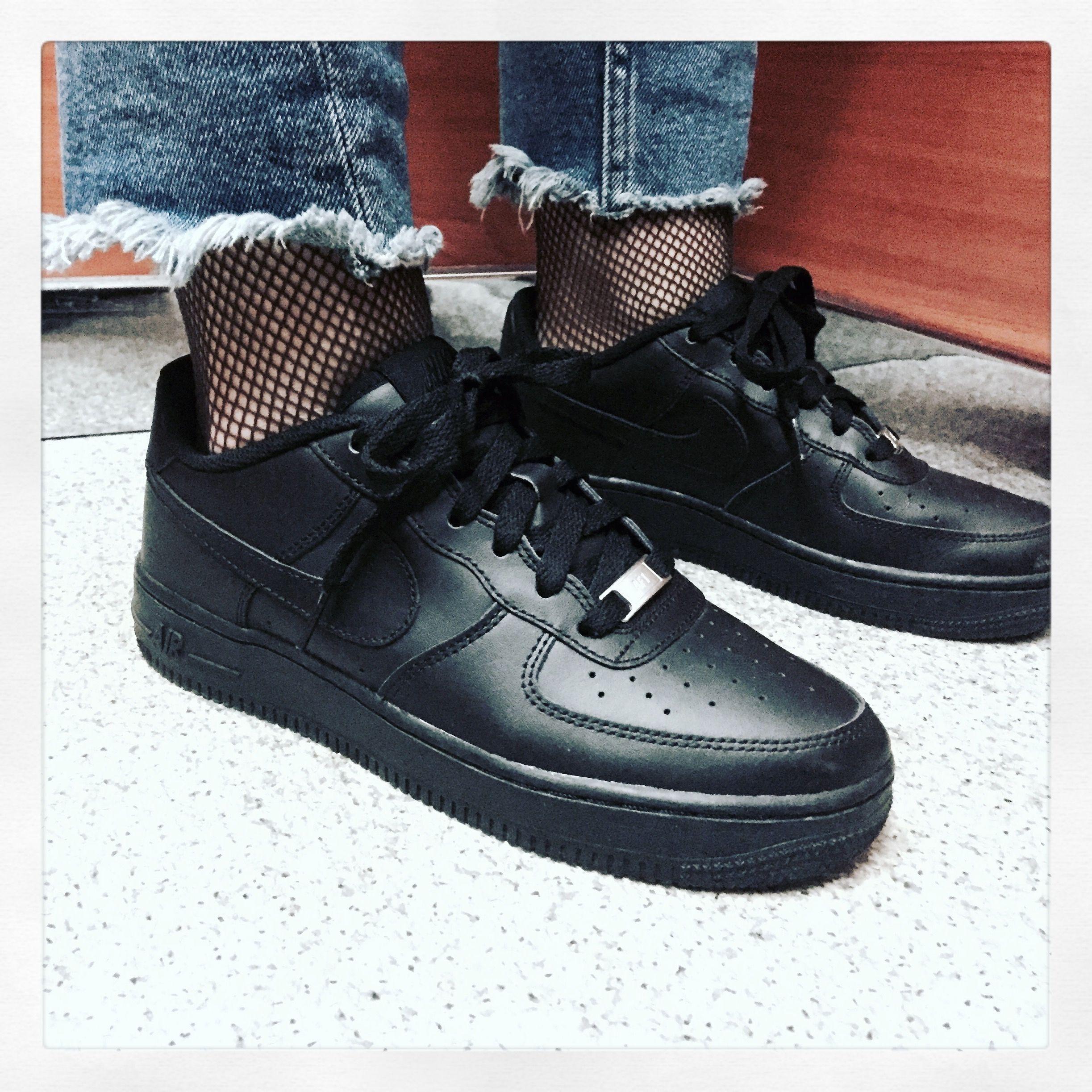 Nike AF1 Black - Women | Sneaker head