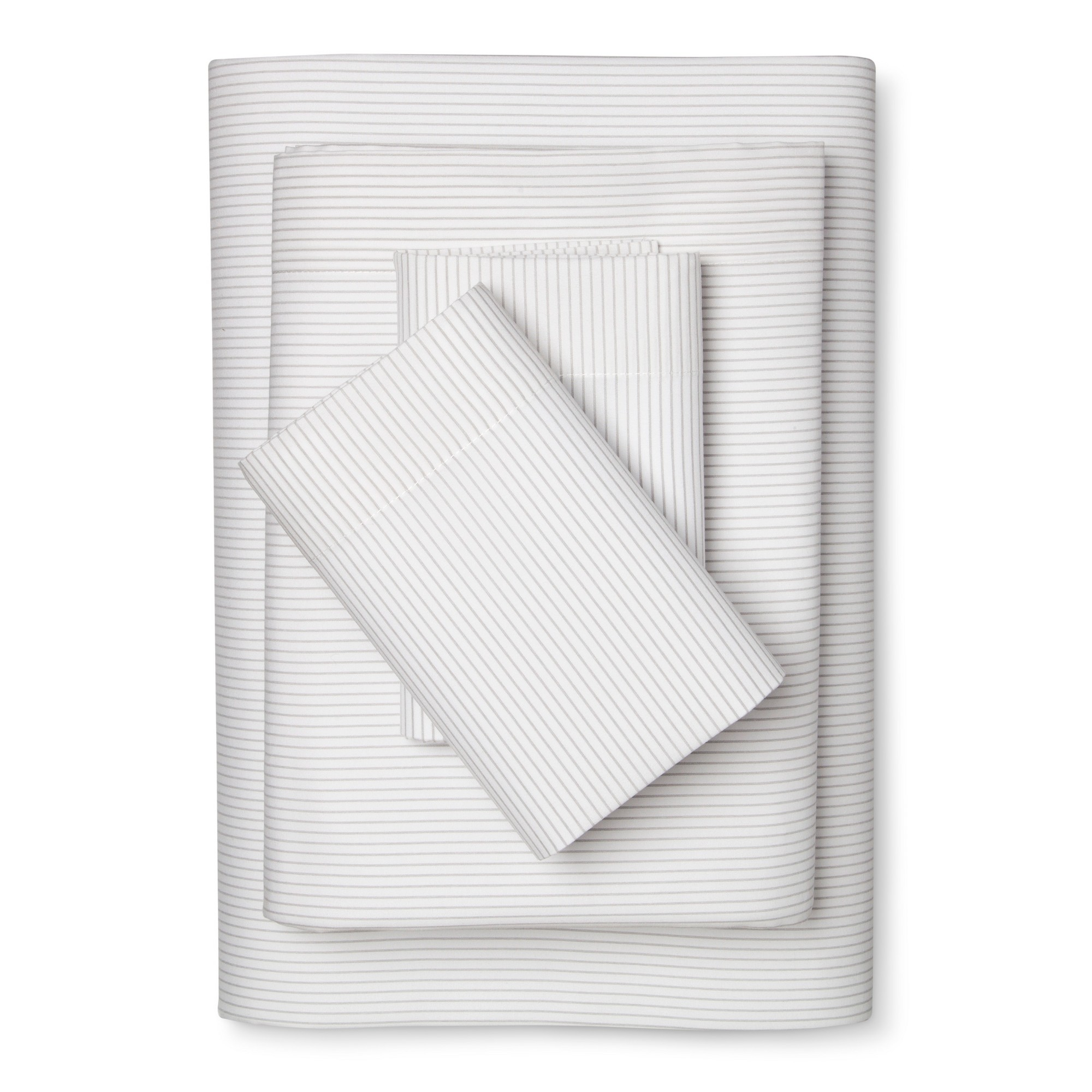 Microfiber Striped Sheet Sets Twin Extra Long Gray Room