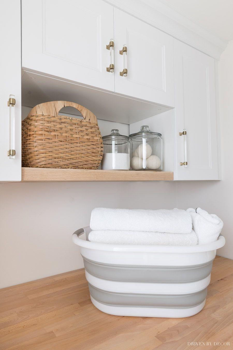 My Six Best Laundry Room Storage Ideas A Big Wayfair Clearout Sale Laundry Room Storage Simple Storage Laundry Room