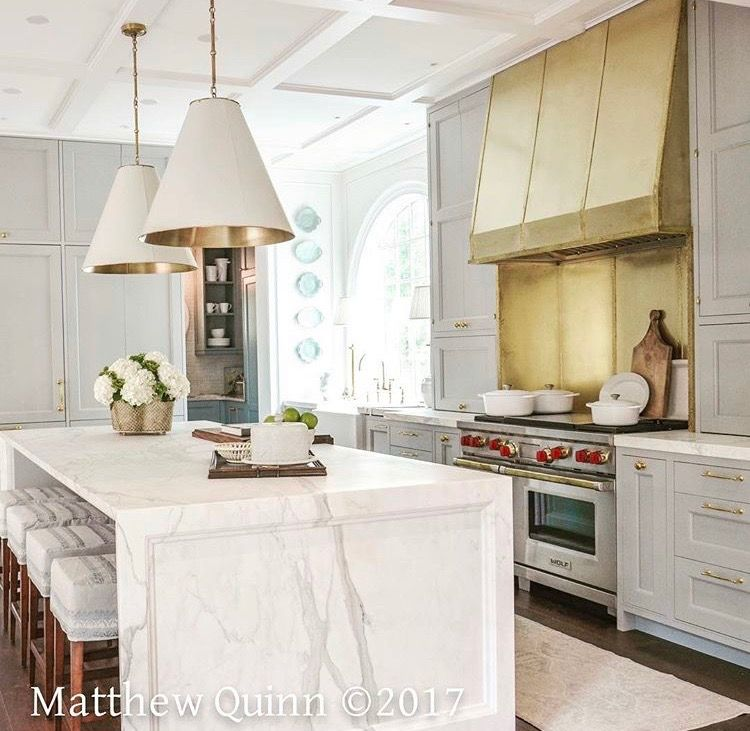 """Regina Kitchen Cabinets: Farrow & Ball """"light Blue"""" On Cabinets In This Kitchen By"""