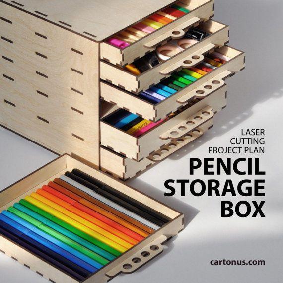aufbewahrungsbox mit schubladen projektplan f r laser. Black Bedroom Furniture Sets. Home Design Ideas
