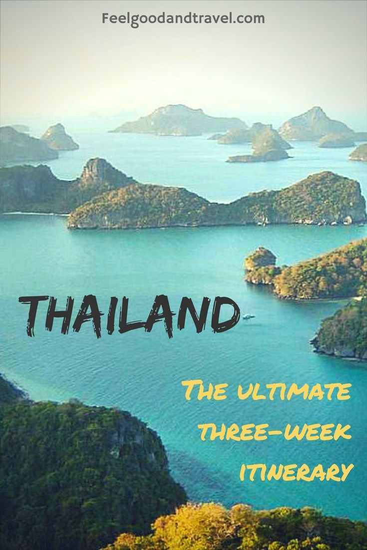 Discover the best places to go in Thailand! Use this three-week Thailand itinerary to help you plan your trip! #Thailand #VisitThailand #ThailandTravel #ThailandItinerary