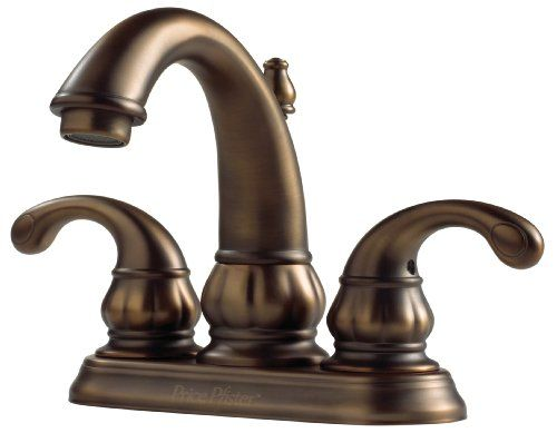 Pfister Treviso 2 Handle 4 Centerset Bathroom Faucet In Velvet Aged Bronze
