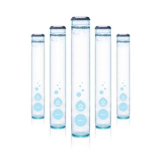 Test Tube Water Bottles Bottle Design Packaging Water Bottle Label Design Bottle Label Design