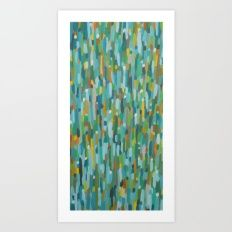 Art Print featuring Foule by Sylvie Demers