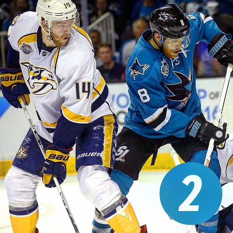 Hockeybydesignjersey Matchup Countdown Round 2 2 Sharks Vs Preds Instagram Posts Instagram Design