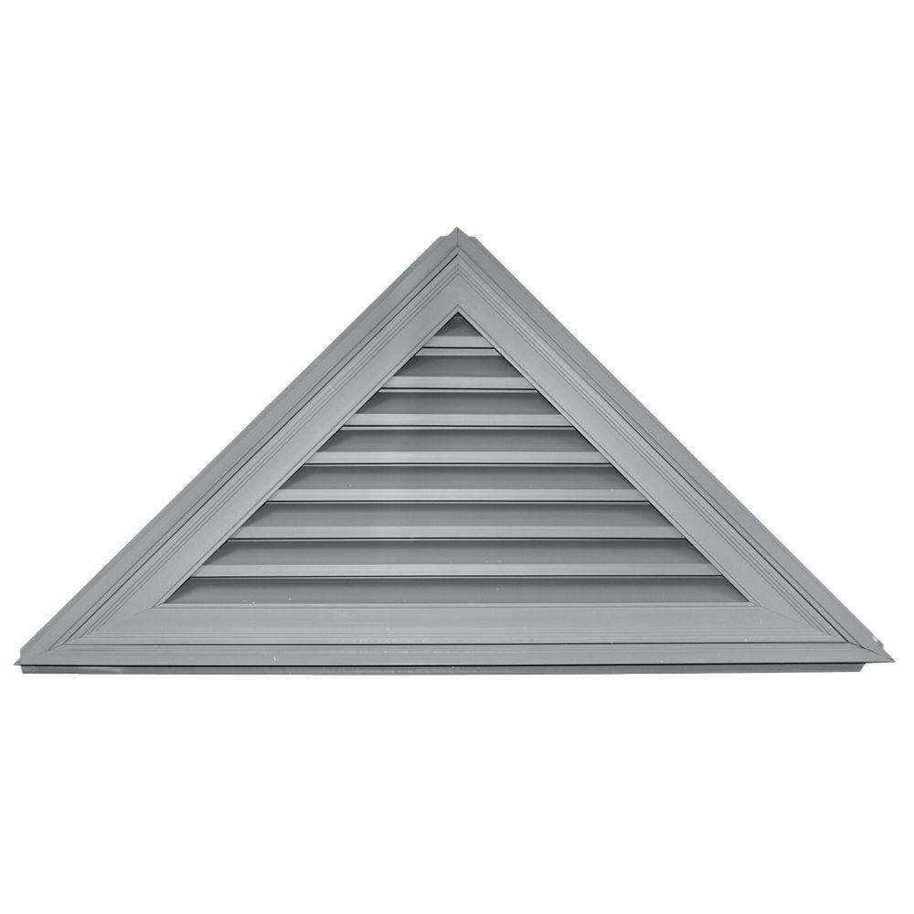 Builders Edge 12 12 Triangle Gable Vent 030 Paintable Gable Vents Gable Roof Design Gable Roof