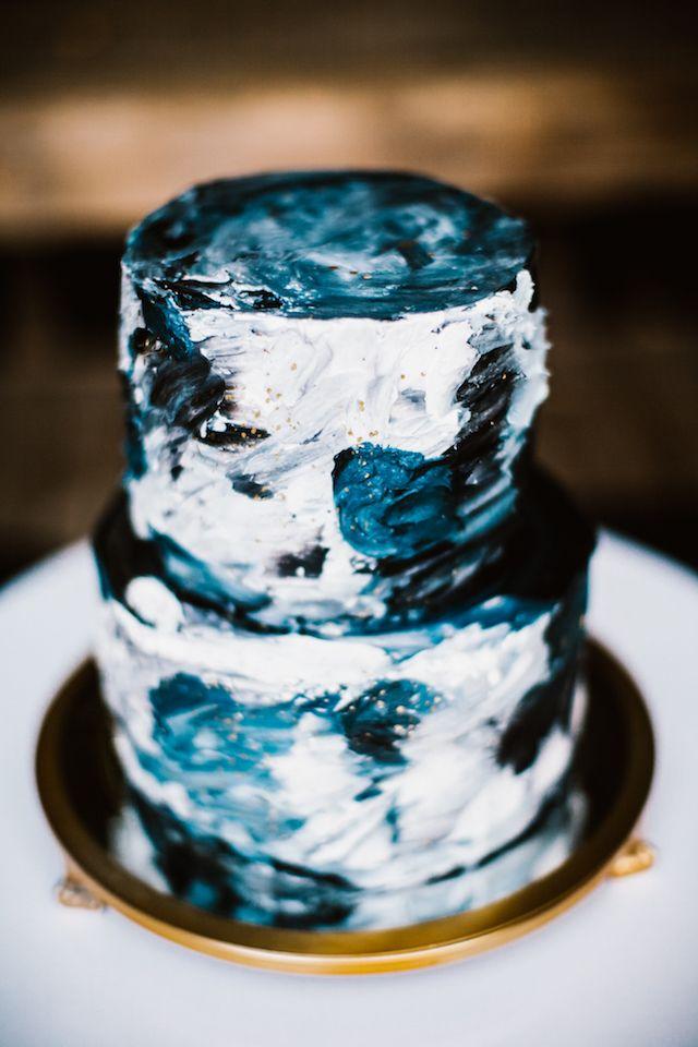 Moon Phase Themed Wedding Black Wedding Wedding Wedding Cakes