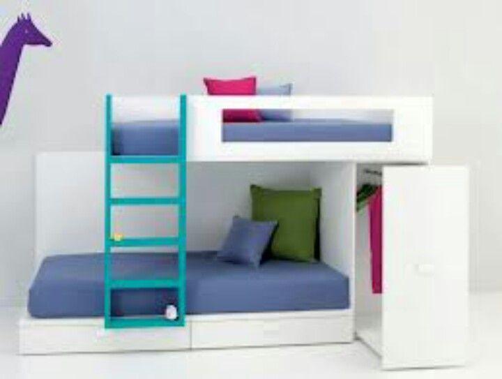 Camarote ideas para habitaci n de los peques pinterest - Habitacion infantil tren ...