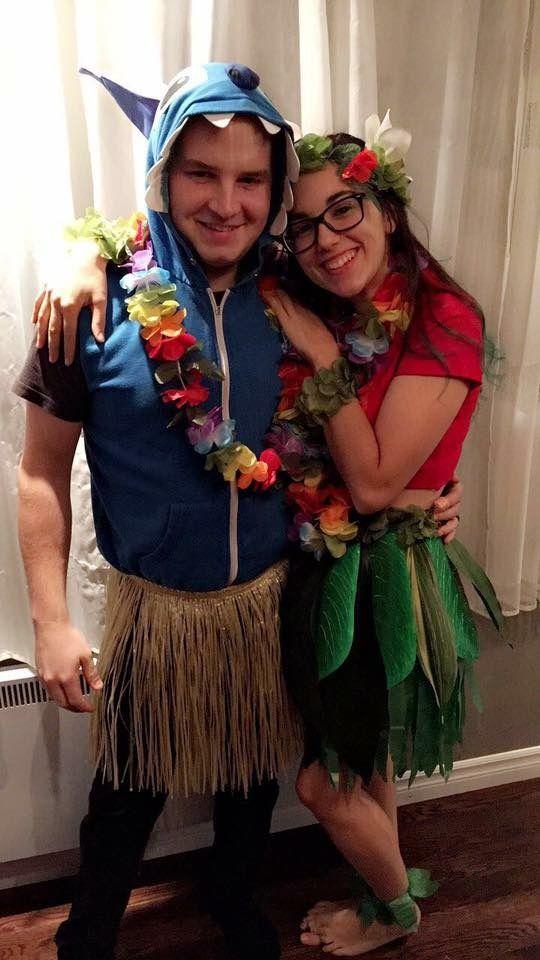 c1737b602a32 Lilo and stitch couple halloween costume