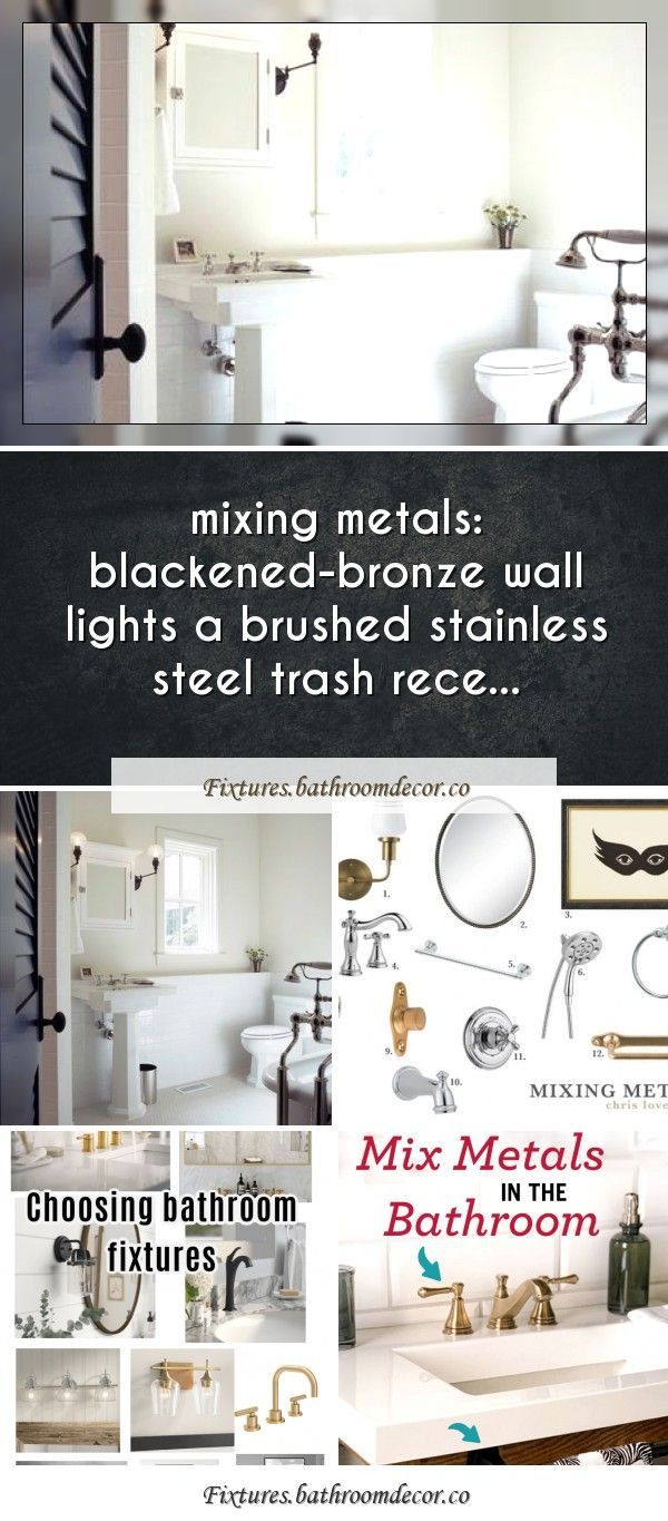 Photo of Mixing metals in the bathroom 101Mixing metals in the bathroom 101 – Chris loves…