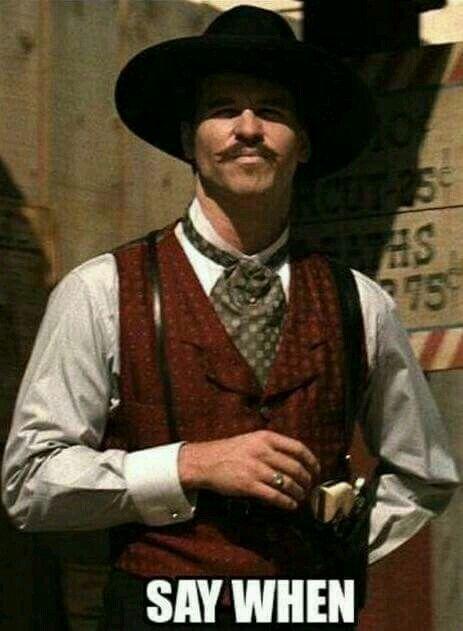 Val Kilmer as Doc Holiday ❤ ❤ ❤ | Val kilmer, Tombstone ...