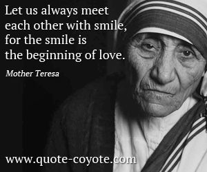 Mother Teresa Quotes On Service To Others Google Search With