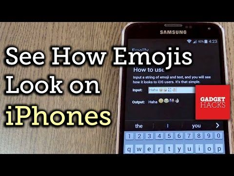 How To See What Your Android Emojis Look Like On Iphones Before Sending Them Emoji Iphone Android