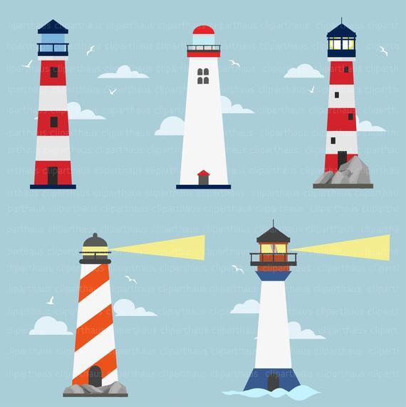 Clipart Lighthouse Lighthouse Clipart Light House Clipart Etsy Lighthouse Clipart Lighthouse Painting House Clipart