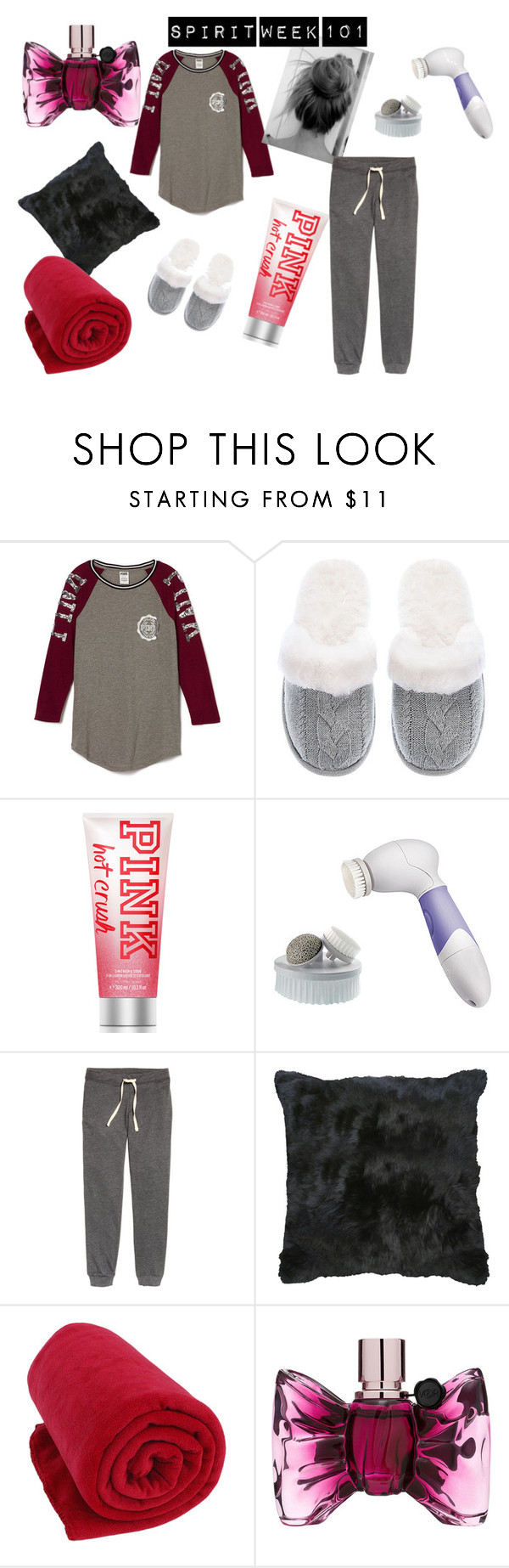 """Pajama Day"" by cammy-trill on Polyvore featuring Victoria's Secret, H&M, Viktor & Rolf, women's clothing, women's fashion, women, female, woman, misses and juniors"