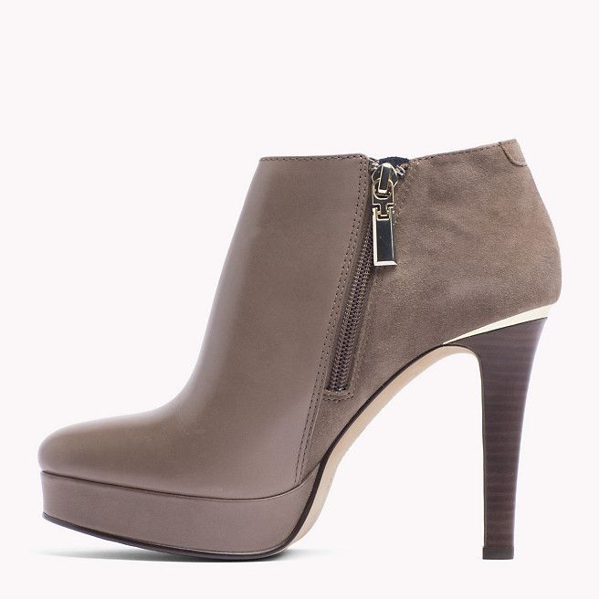 hot sales d67fe b7d90 Tommy Hilfiger Lucy Ankle Boots - mink (Braun) - Tommy ...