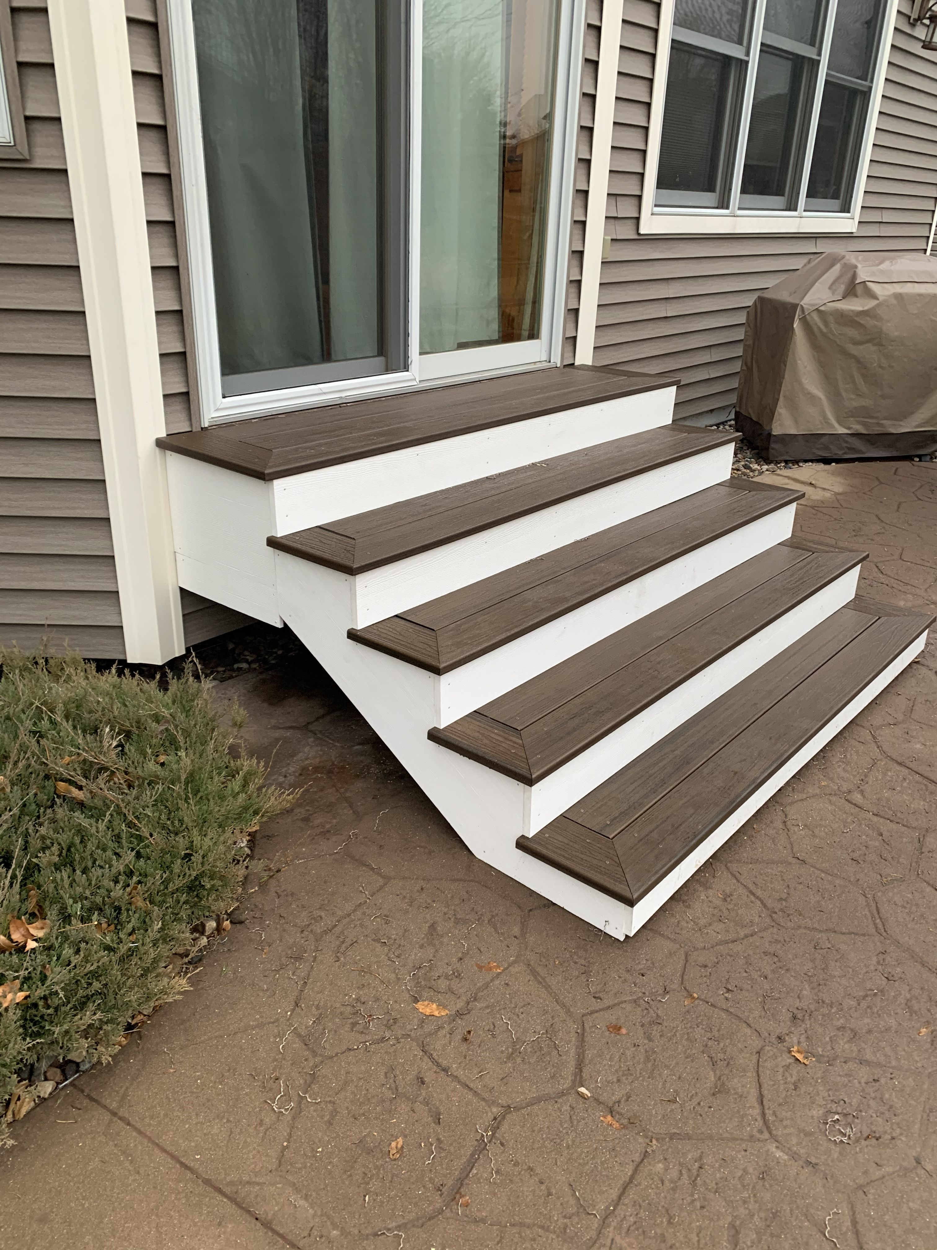Patio Steps Stairs Trex