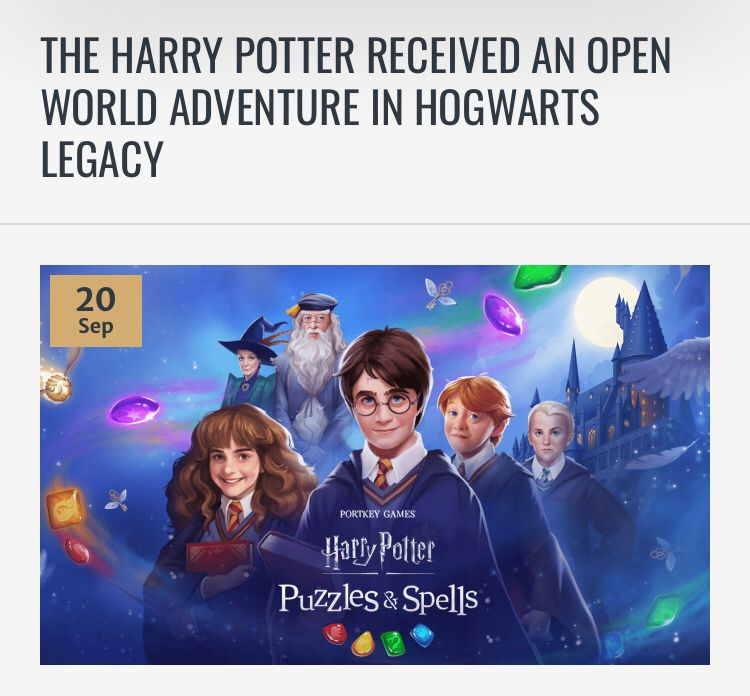 The Harry Potter Received An Open World Adventure In Hogwarts Legacy Hogwarts Harry Potter Video Games Legacy