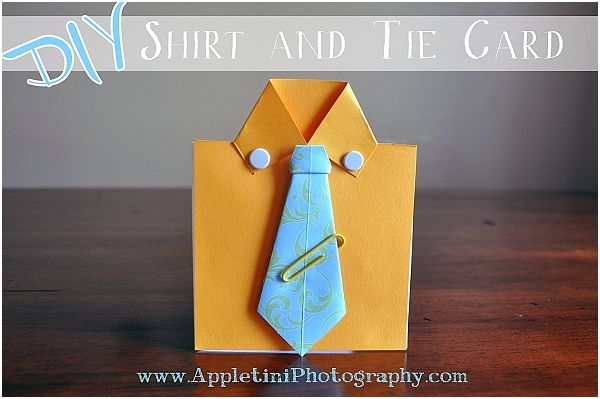 Father S Day Craft Idea Shirt And Tie Card Fathers Day Crafts Crafts Fathers Day