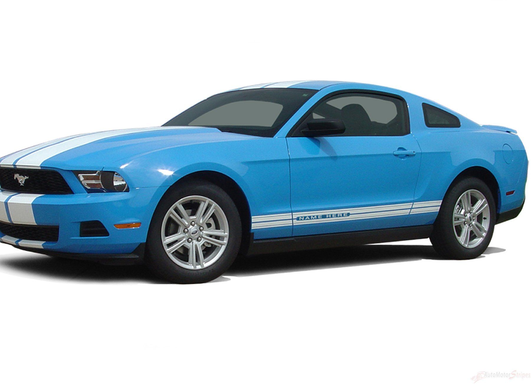 Ford Mustang Lower Door Side Accent Stripes Decals 2005 2006 2007 2008 2009