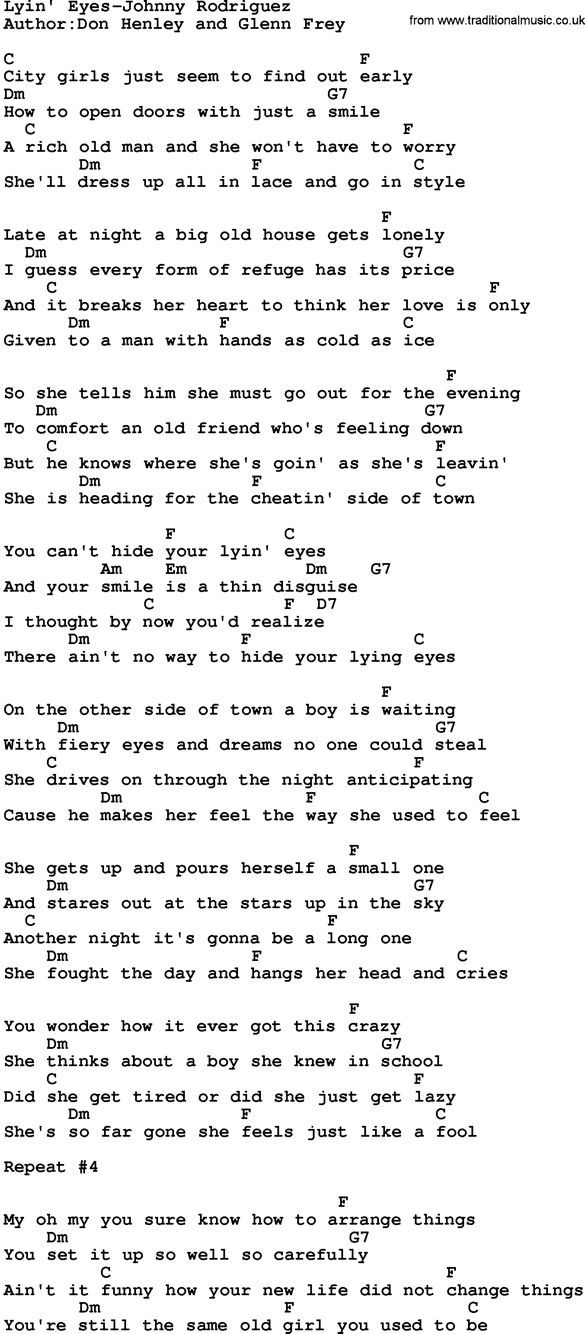 Lyin\' eyes by Eagles | Songwriters | Pinterest | Guitars, Guitar ...