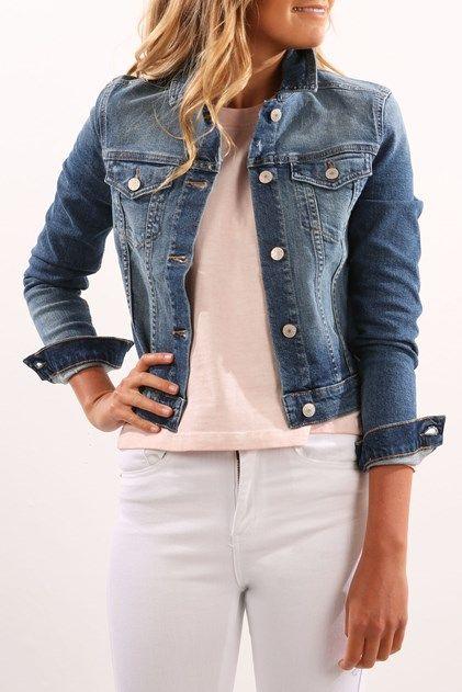 Denim Jacket Marley Blue Shop Womens Jackets Jackets Jackets For Women